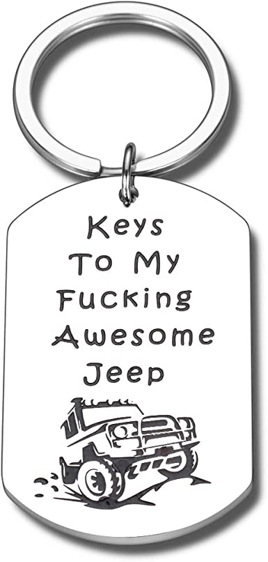 Jeep Lover Gift - Keychain to My Awesome Jeep