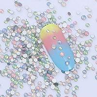 Opal Rhinestones 3D Nail Art Decoration Marquise Heart Star Multi-Size Nails DIY
