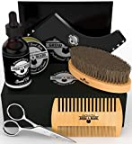 Best Beard Oil Kits - Beard Brush - Comb - Balm - Oil Review