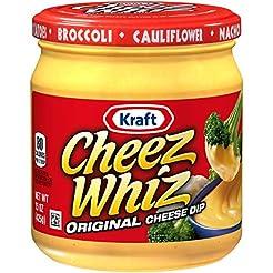 Cheez Whiz Original Cheese Dip (15 oz Ja...