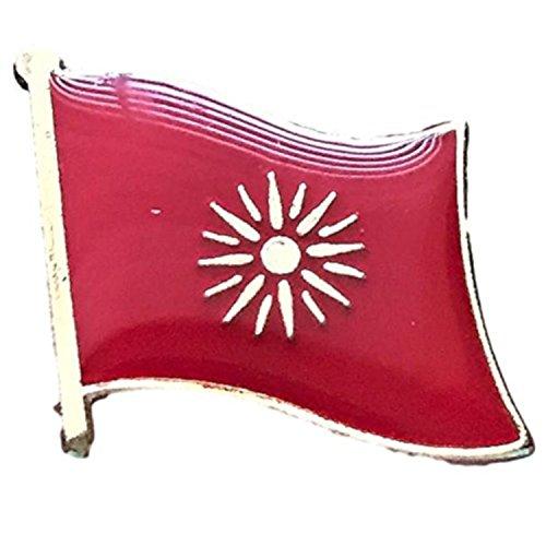 "Backwoods Barnaby Macedonia Flag Lapel Pin (0.75"" x 0.75"")"
