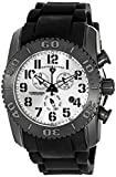 Swiss Legend Men's 11876-TIB-02S Commander Titanium Analog Display Swiss Quartz Black Watch