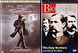 Wyatt Earp the Movie Starring Kevin Costner , Biography the Earp Brothers True Story : 2 Pack