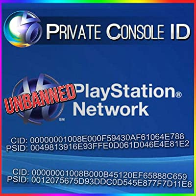 Amazon com: PS3 Console ID + PSID IDPS Unban 100% Private