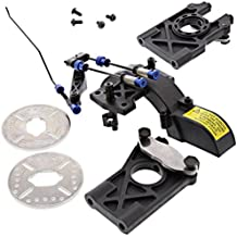 Losi 1/5 5ive-T BRAKE DISCS, PADS, DIFFERENTIAL MOUNTS, GEAR COVER, LINKAGE by Team Losi