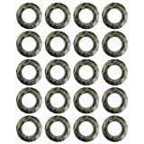 Selling Wonderful 1-11/16-Inch Inner Diameter Curtain Grommets 20 Sets (Color3)