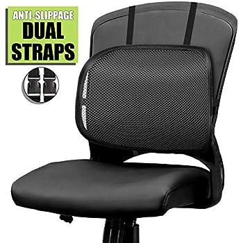 Amazon.com: Lumbar Support, Cartop Mesh Back Cushion 2 Pack ...