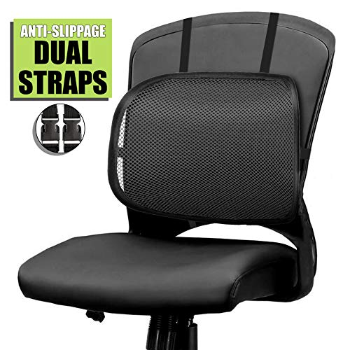 Easy Posture Lumbar Back Support Mesh Black Mesh 1pc