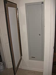 Stack on iwc 55 full length in wall cabinet False wall safe
