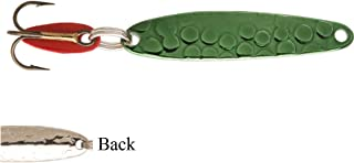 product image for Bay de Noc Lure Swedish Pimple Hammered Nickel Green #4 4ANG 1/4 Ounce