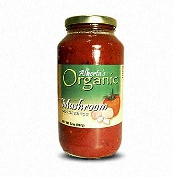 Albertas Organic Mushroom Pasta Sauce (24oz)