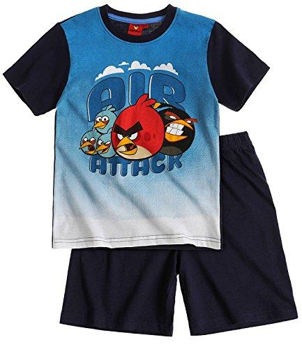 Angry Birds Jungen Shorty-Pyjama - marine blau - 152