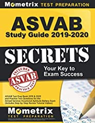 Mometrix Test Preparation's ASVAB Study Guide 2019-2020 Secrets is the ideal prep solution for anyone who wants to pass their Armed Services Vocational Aptitude Battery. The exam is extremely challenging, and thorough test preparation ...