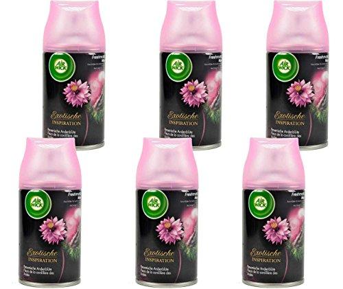 Air Wick 4002448078005 Freshmatic Max Automatisches Duftspray, Nachfüller Peruanische Andenblüte (6-er Pack)
