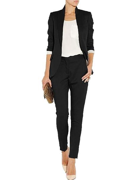 Amazon.com: Conjunto de 2 piezas de trajes para mujer: Clothing