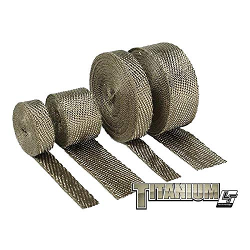 Design Engineering 010129 Titanium Exhaust Heat Wrap with LR Technology, 2