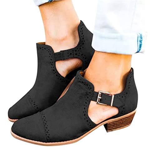 d98a228a Mocasines tacón Alto para Mujer, QinMM Zapatillas Zapatos de Merceditas  Deportes: Amazon.es