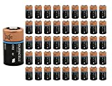 100x Duracell Ultra Lithium CR2 Batteries 3V Bulk Wholesale Lot Exp. 2027