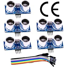 HC-SR04 Ultrasonic Sensor Distance Module (5pcs) for Arduino UNO MEGA2560 Nano Robot XBee ZigBee by ElecRight