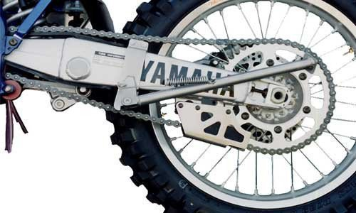 Yamaha YZ125 & YZ250 Clamp-on Kick Stand Constructed with Chrome-Moly Steel. All mounting hardware included. by Ricochet for 1996, 1997, 1998, 1999, 2000, 2001, Models