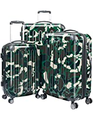 HAUPTSTADTKOFFER Luggages Sets Glossy Suitcase Sets Hardside Spinner Trolley Expandable (20, 24 & 28) TSA