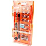 58 piece computer repair tool kit - ALLIMITY JM8125 Screwdriver Kits, 58 in 1 Hardware Hand Tool Screwdriver Set for iPhone iPad Smartphones Tablet Electronics and Home Appliances Repairing