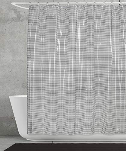 Creative Bath Products Linea Shower Curtain Grey