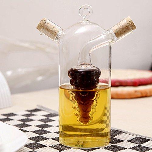 Pink Roses Gravy Boat (Glass Sauce Pot Soy Oil Bottle Seasoning Jar The Vinegar, Sauce,wine,condensed Milk,honey, Cooking Oil,soybean Milk,fruit Juice)