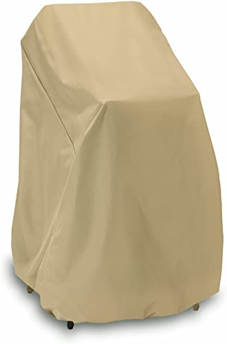 Two Dogs Designs Home and Garden 2D-PF40365 High Stack Chair Cover with Level 4 UV Protection, 48-Inch, Khaki