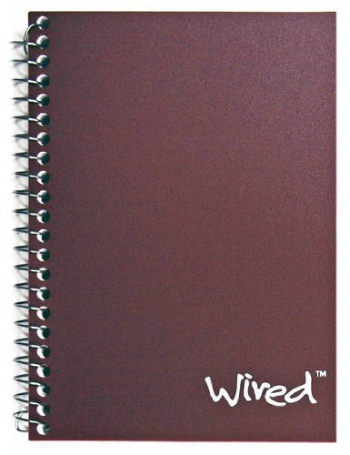 Wired 4511457 4511457 Personal Wirebound Notebook, 100 Sheets, College Rule, 7 x 5-Inches, 1 Notebook, Cover May Vary (Assorted) Topflight Inc. 33185