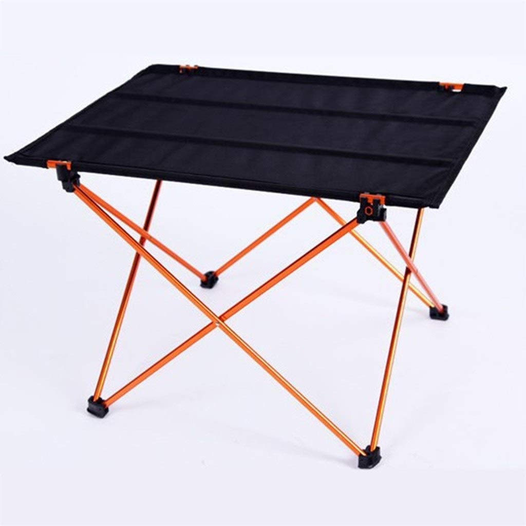 C 75CM JKL®-Lapdesks Table de Camping portable Pliante en Plein air Table de Pique-Nique en Aluminium Table de pêche sur la Plage Barbecue Visite Libre (Couleur   B, Taille   57CM)