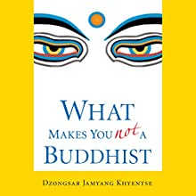 What Makes You Not a Buddhist Audiobook by Dzongsar Jamyang Khyentse Narrated by Tom Pile