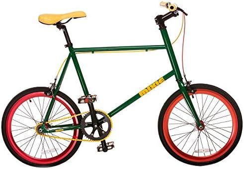 Mixie Straight Edge - Bicicleta BMX Freestyle, Color Verde, Talla ...