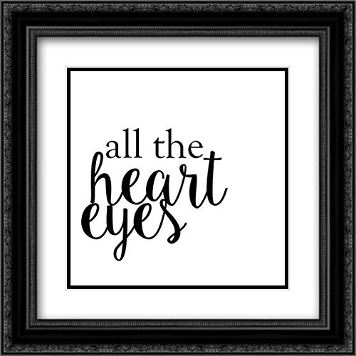 Quotable VI 20x20 Black Ornate Frame and Double Matted Art Print by Hambly, ()