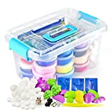 Graces Dawn Polymer Clay,36 Colors Ultra Light Molding Magic Clay Kit, Best Kids Gifts Ever , Non-toxic, Easy Storage