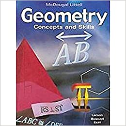 Amazon geometry concepts skills 9780618087587 mcdougal geometry concepts skills 2002nd edition fandeluxe Choice Image