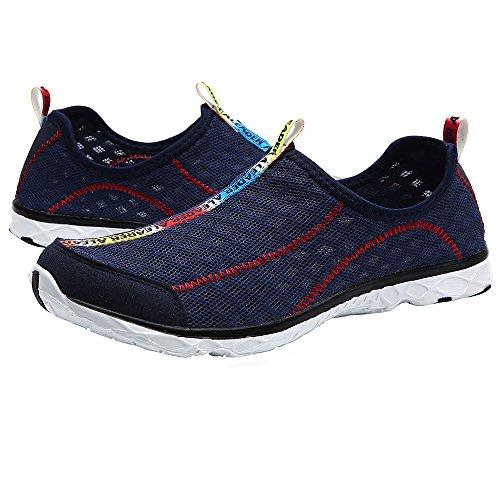 Aleader Women's Mesh Slip On Water Shoes Navy 6 D(M) US