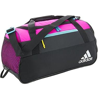 Adidas Squad III Duffel Bag, Shock Pink/Black/Shock Pink/Shock Green, OneSize