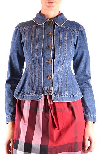 Mujer Burberry Azul Algodon Chaqueta Mcbi36463 4aqwxdOa