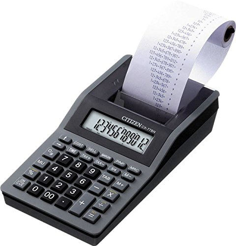 Citizen CX-77BN Scrivania Calcolatrice con stampa Nero calcolatrice CX77BN
