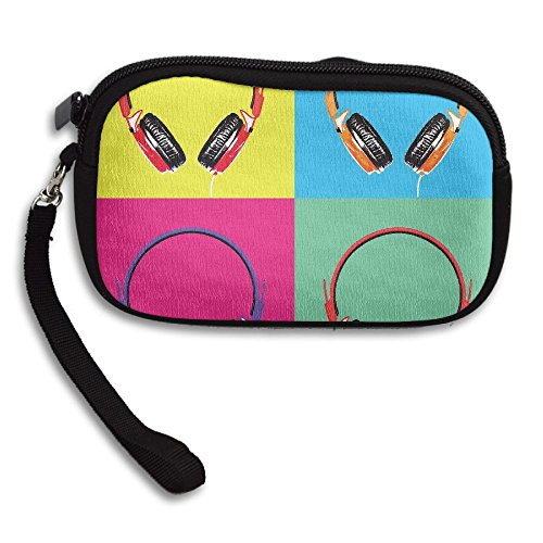 Portable Headphones Printing Small Color Receiving Four Purse Deluxe Bag TvY5nwq