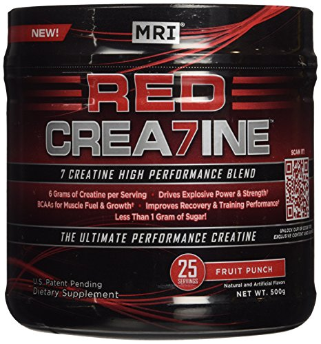 MRI® RED CREA7INE - Fruit Punch 25 servings