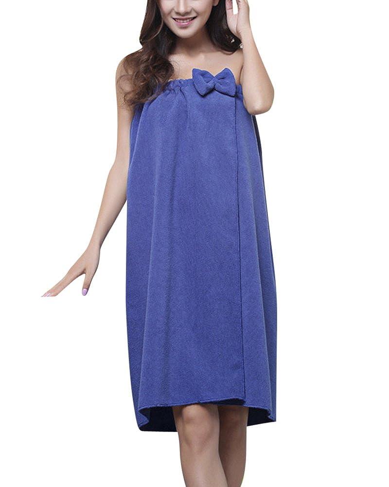 ZiXing Pareo de Bain Femme Serviette de Bain Robe Sarong Seche Spa Serviette a Sauna