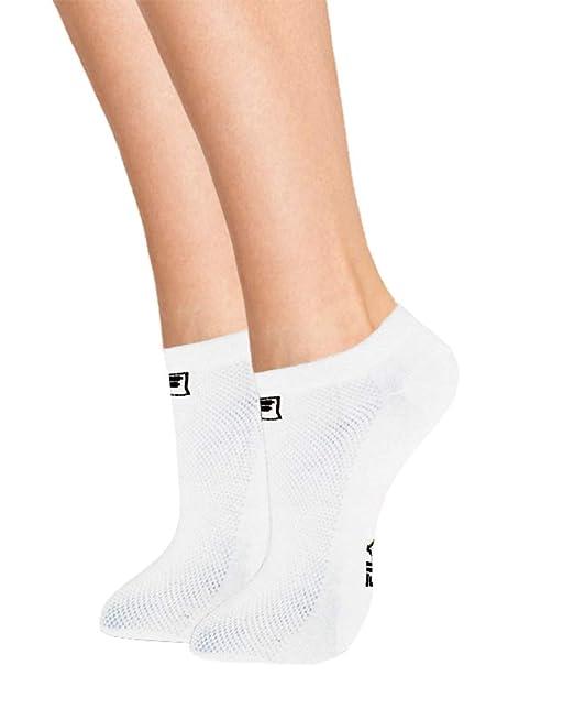 Fila Calcetines deportivos cortos transpirables x3: Amazon.es: Ropa y accesorios