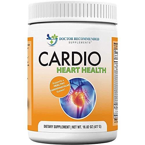 Cardio Heart Health Powder - L-Arginine Supplement 5000mg & L-Citrulline 1000mg,16.82 oz