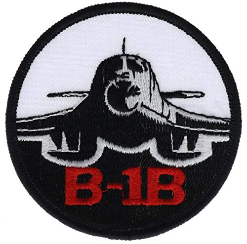 """Rockwell B-1 Lancer 3"""" Round Embroidered Patch PPMb1bmbr"""
