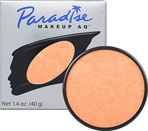 Mehron Makeup Paradise Makeup AQ Face & Body Paint - Orange/Orange, Brilliant Series - 40gm