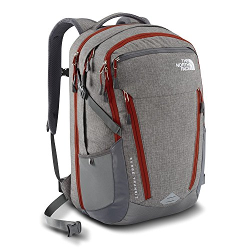 North Face TNF Surge Transit Pack Zinc Grey Heather/Pican...