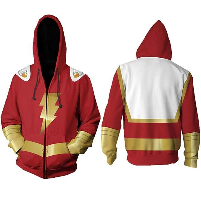Sudadera con Capucha Unisex Anime 3D Cremallera Sudadera Cosplay Avengers 4 Quantum Warrior Concept Jacket: Amazon.es: Ropa y accesorios
