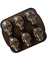 Nordic Ware 89448 skull pan, Bronze